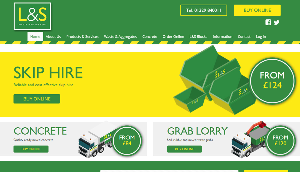 Waste Management Online Ordering System