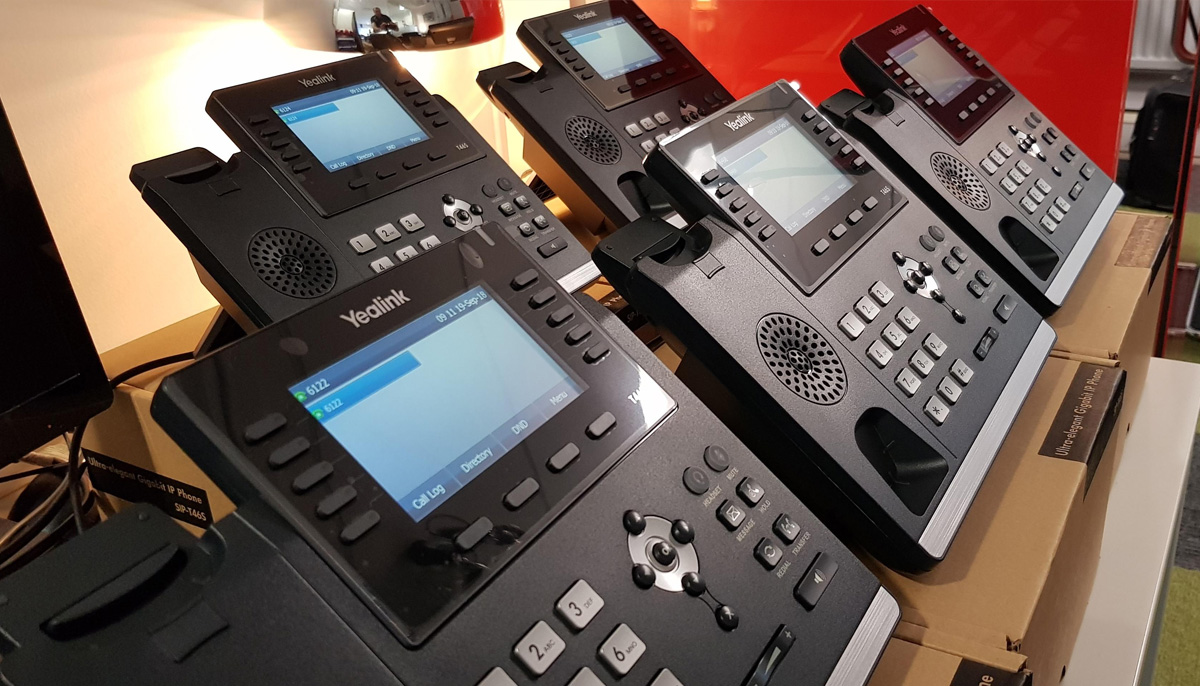 Hosted Cloud Phone System Installation